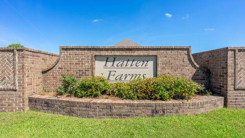 Front Entrance Sign - Hatten Farms - DSLD Homes Gulfport