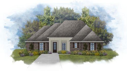 Klein II G - Front Elevation - DSLD Homes