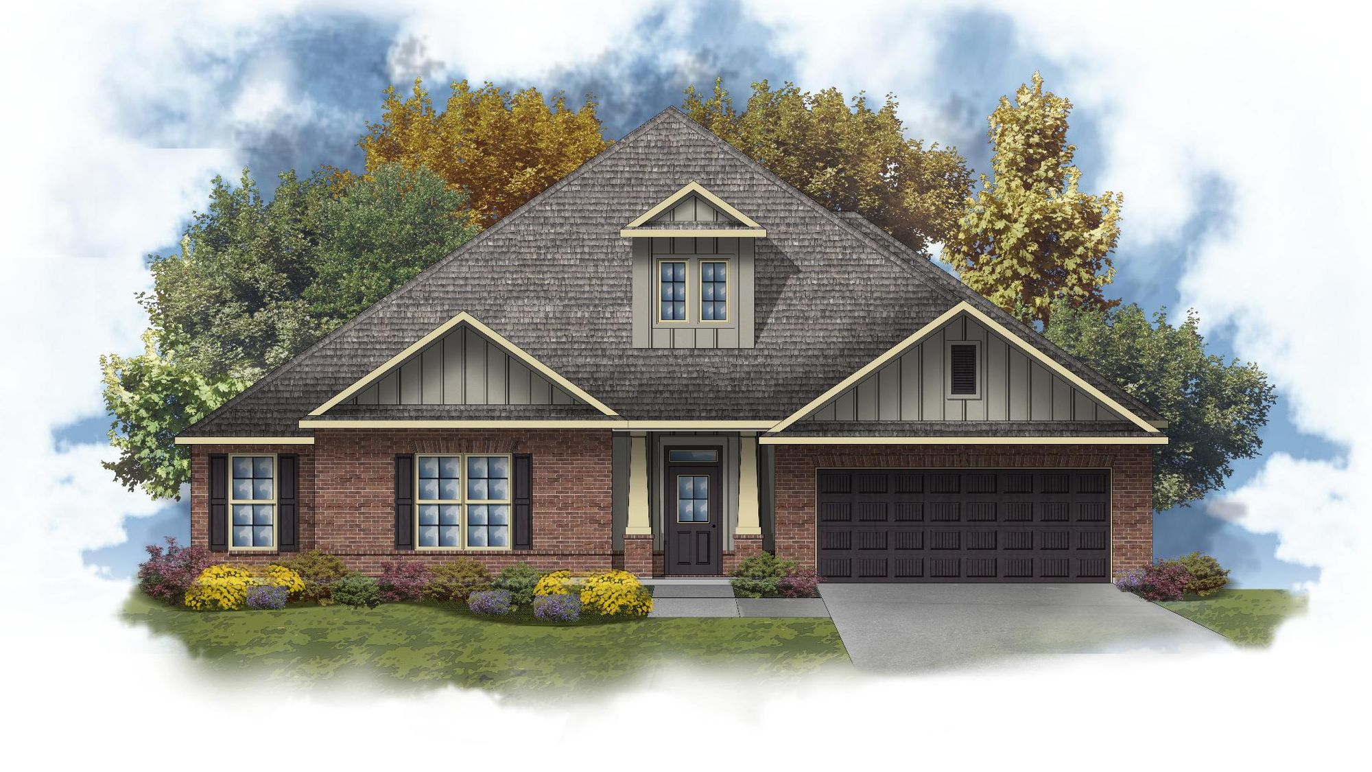 Truman III B - Open Floor Plan - DSLD Homes