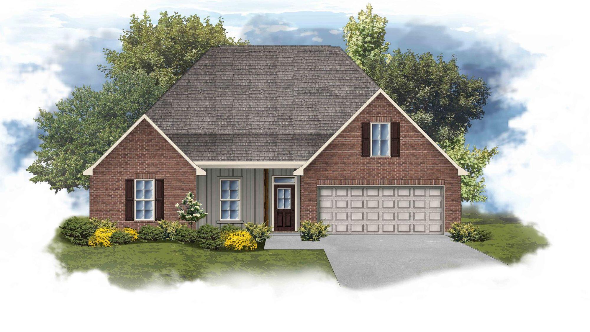 Camellia IV H Open Floorplan  - DSLD Homes