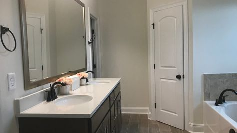 College Heights - Lake Charles- DSLD Homes - Master Bathroom Suite