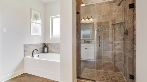 Master Bathroom - River's Edge - DSLD Homes D'Iberville