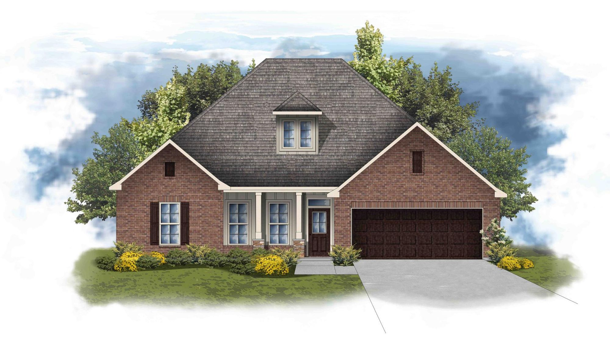 Colebrook II A - Open Floor Plan - DSLD Homes