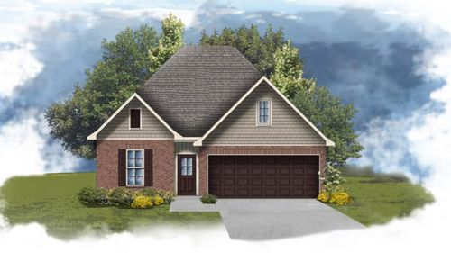Fleetwood II G - Front Elevation - DSLD Homes