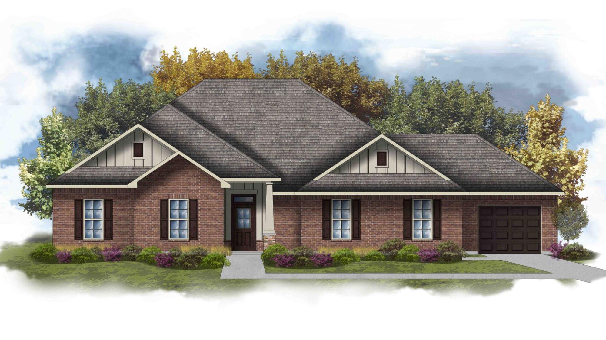 Cleveland III K - Open Floor Plan - DSLD Homes