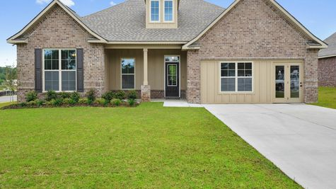 Front of Model Home - Savoy Place - DSLD Homes Gulfport