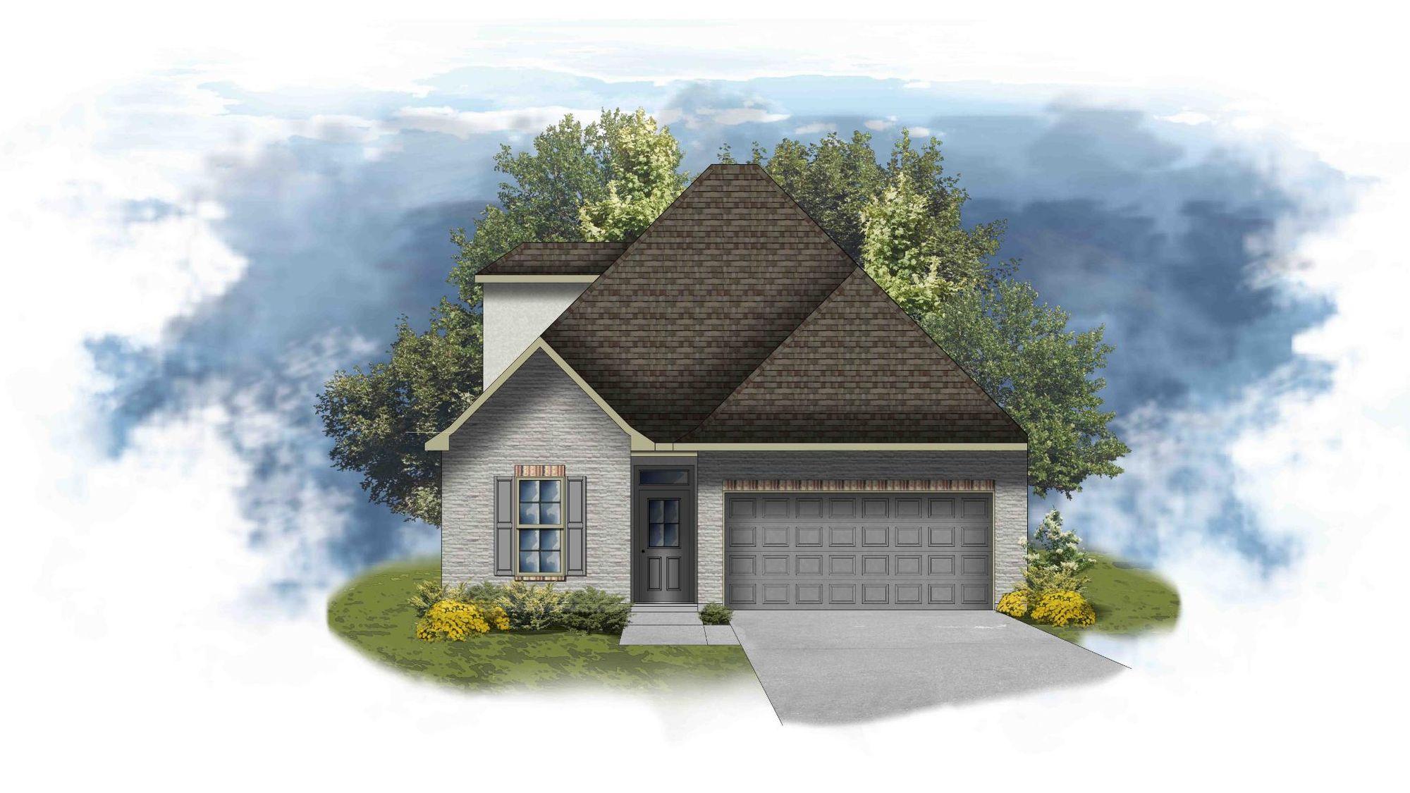 Colonne II A - PB - Open Floor Plan - DSLD Homes