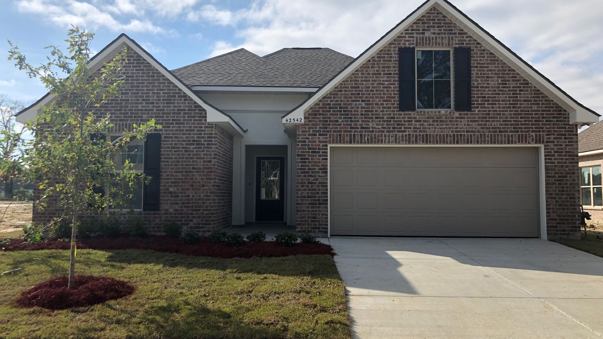 Front View - Cedar Springs Community - DSLD Homes Gonzales