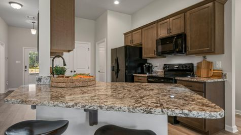 DSLD Homes - Liberty IV H - Cambre Oaks - Gonzales, LA - Model Home Kitchen