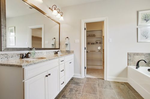 River's Edge - Model Home Master Bathroom - DSLD Homes - Dubois IV A - D'Iberville, MS
