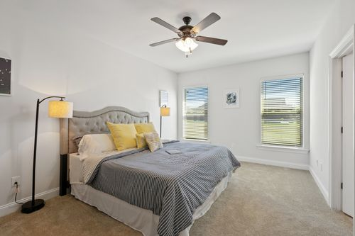 Hatten Farms - Model Home Master Bedroom - DSLD Homes - Lamar IV A - Gulfport, MS