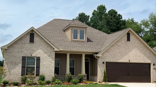 Colebrook II A - DSLD Homes - Meridianville, AL - Model Home Exterior