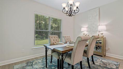 Grand Oaks Estates - DSLD Homes - Model Home Dining Room- Gulfport, Mississippi