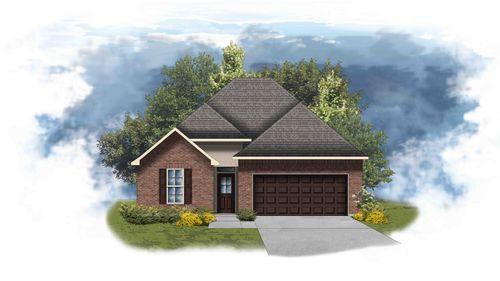 Cedar III A - Front Elevation - DSLD Homes
