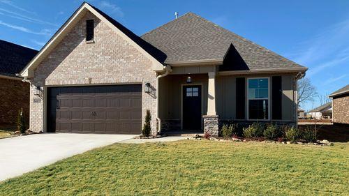 Tanner II B - Open Floor Plan - DSLD Homes - Front of Home
