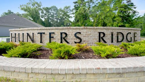 DSLD Homes - Hunter's Ridge Front Entrance Sign - Denham Springs, LA