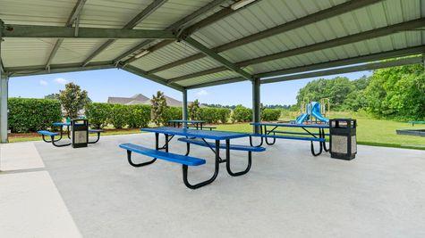 Arbor Walk Community Pavilion - New Construction Homes- DSLD Homes-  Denham Springs, Louisiana