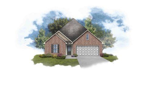 Shefford IV G - Front Elevation - DSLD Homes
