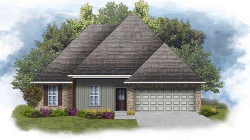 Rochelle IV G - Front Elevation - DSLD Homes