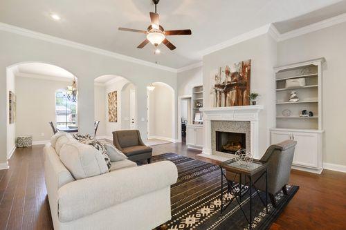 Hawthorne Grove - Model Home Living Room - DSLD Homes - Renoir III A - Pensacola, FL