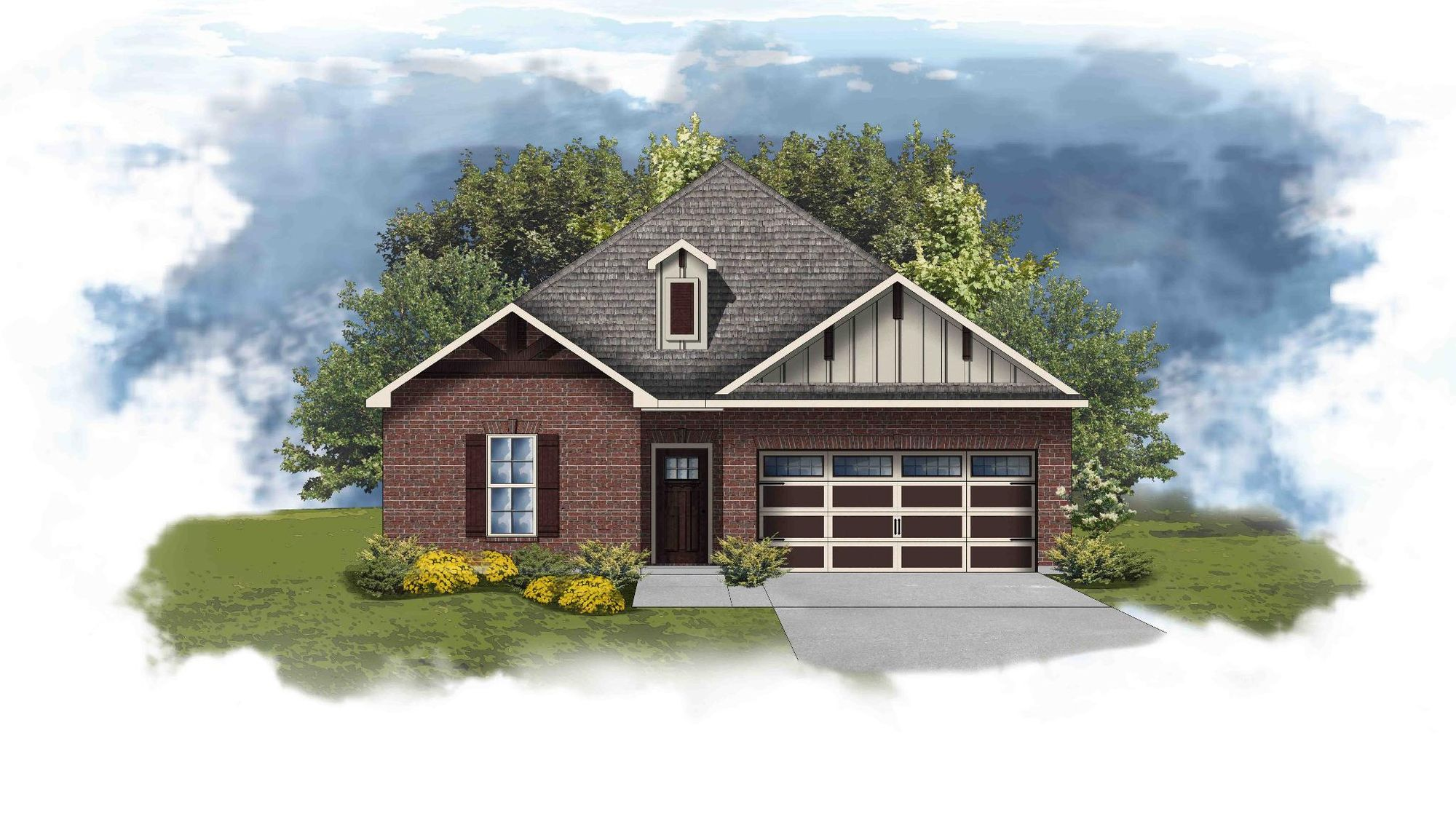 Torrington II D - Open Floor Plan - DSLD Homes
