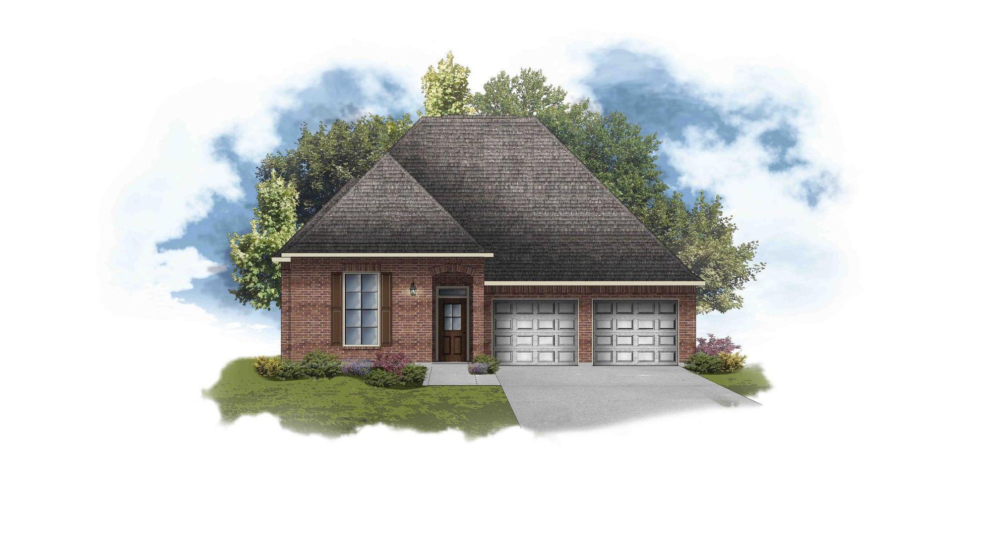 Violet III B - Open Floor Plan - DSLD Homes