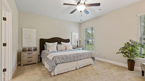 DSLD Homes- Hidden Lakes Estates- Denham Springs- Model Home Master Bedroom