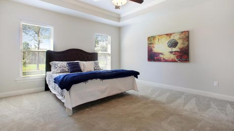 Master Suite - Nature's Trail - DSLD Homes Biloxi
