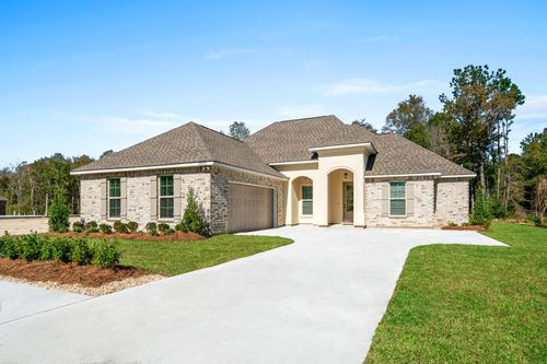 Coburn Lakes Model Home - Ketty II B - Hammond, LA - DSLD Homes