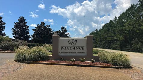 Windance Country Club Community Entrance Sign - DSLD Homes - Gulfport, MS