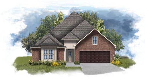 Sansa II G - Front Elevation - DSLD Homes