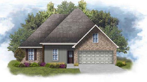 Rochelle IV H - Front Elevation - DSLD Homes