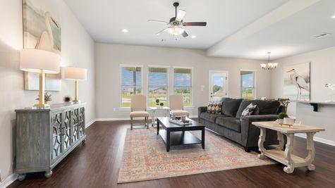 Rosman IV G - DSLD Homes - Myrtle Grove Model Home - Plaquemine, LA