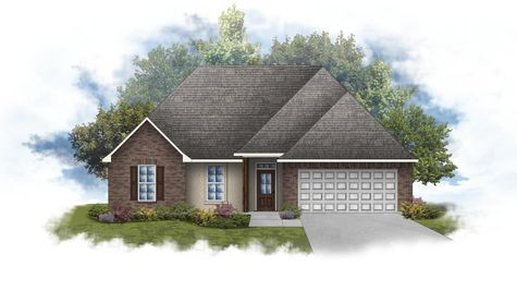 Ramsey IV A - Front Elevation - DSLD Homes