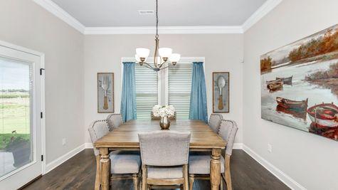Meadow Crest Model Home Dining Room - Collinswood II G - DSLD Homes - Hazel Green, AL