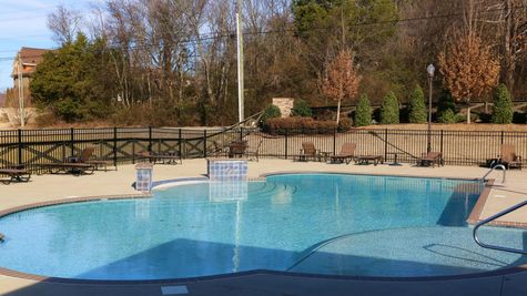 Community Pool - Nature's Cove - DSLD Homes Huntsville