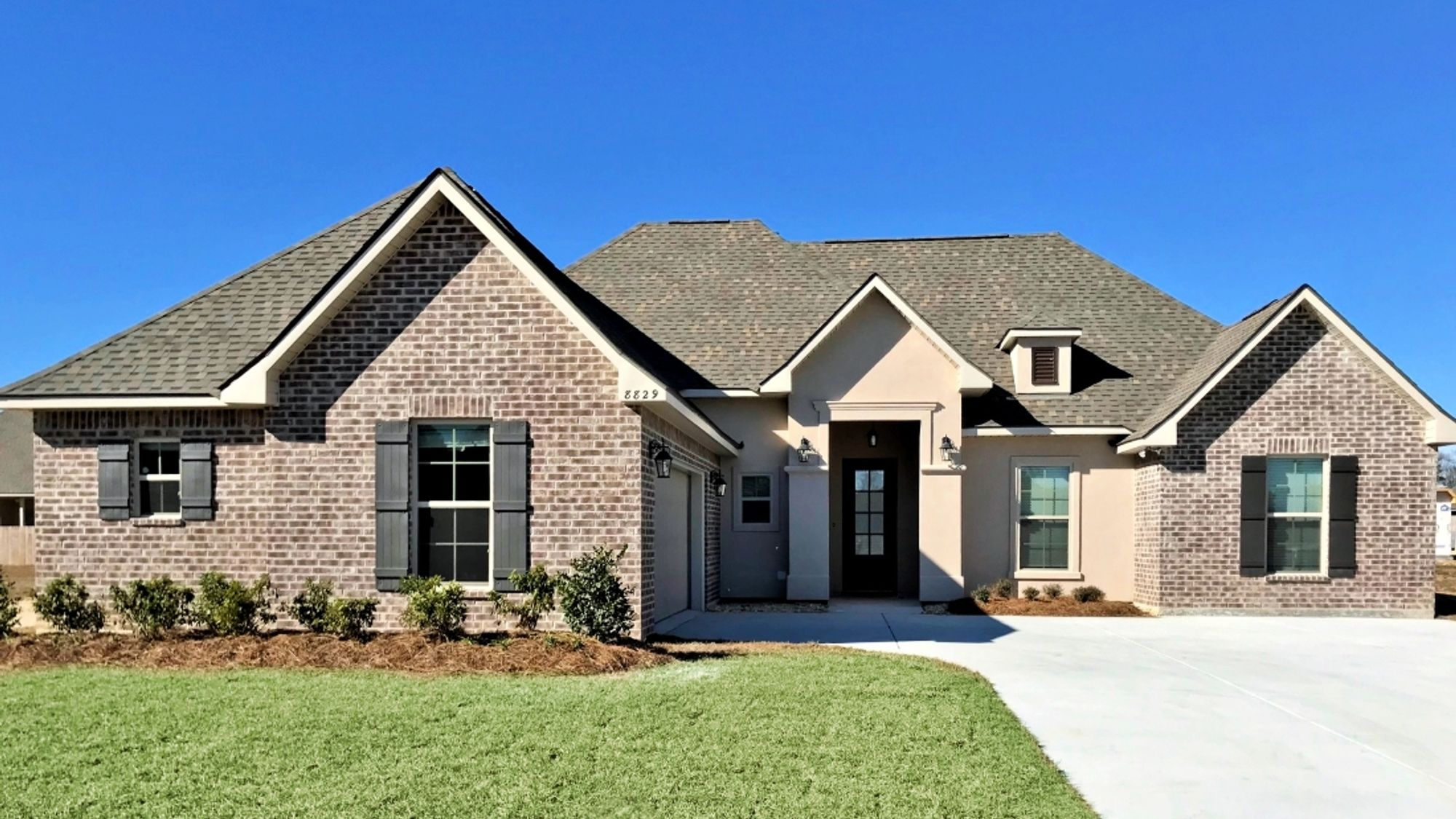 Front View - Canova III A - Nickens Lake Community - DSLD Homes - Denham Springs