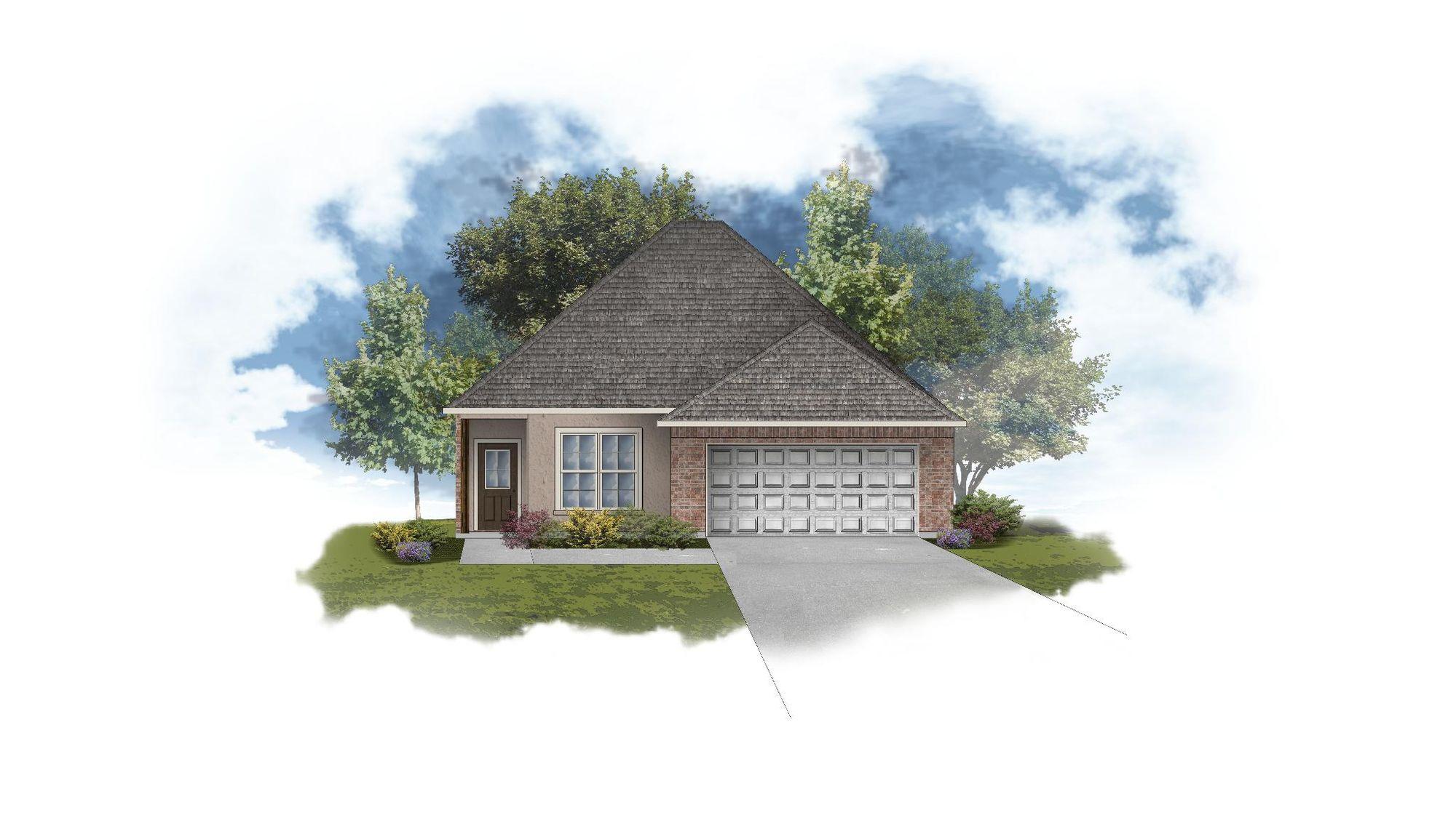 Banbury III B Open Floor Plan - DSLD Homes