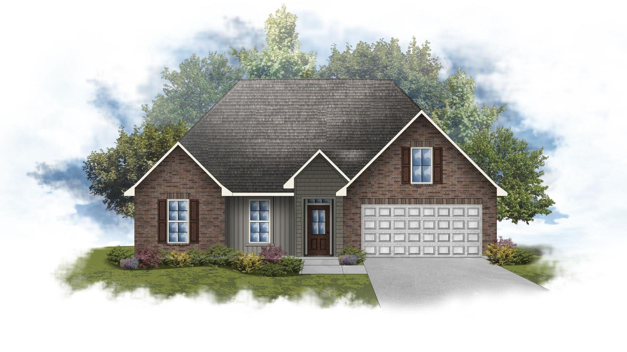Lily IV H Open Floorplan - DSLD Homes