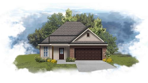 Thomas II A - Front Elevation - DSLD Homes