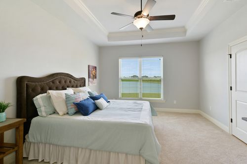 The Reserve at Conway- Model Home Master Bedroom - DSLD Homes - Klein II B - Gonzales, LA