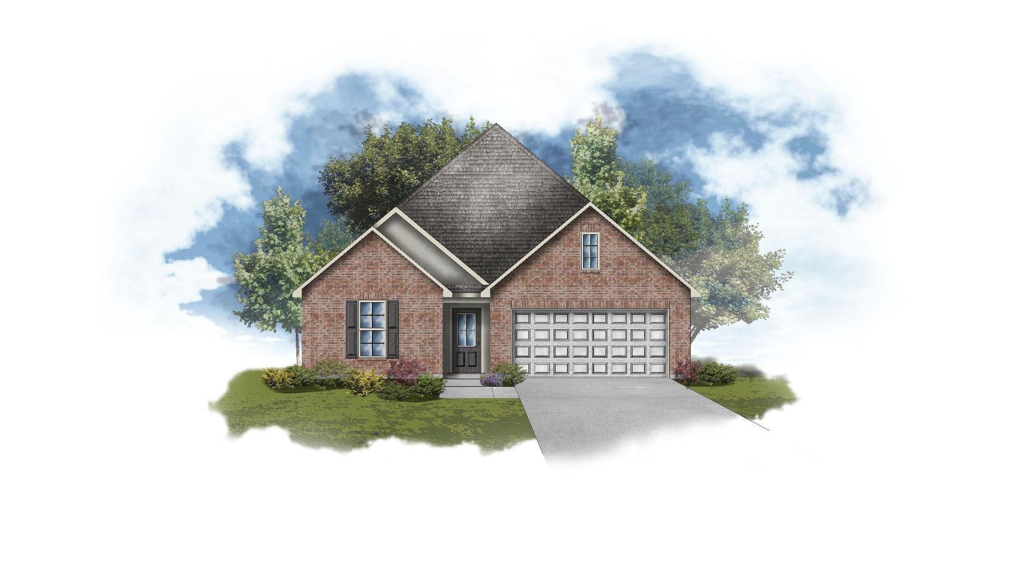 Shefford IV A - Open Floor Plan - DSLD Homes
