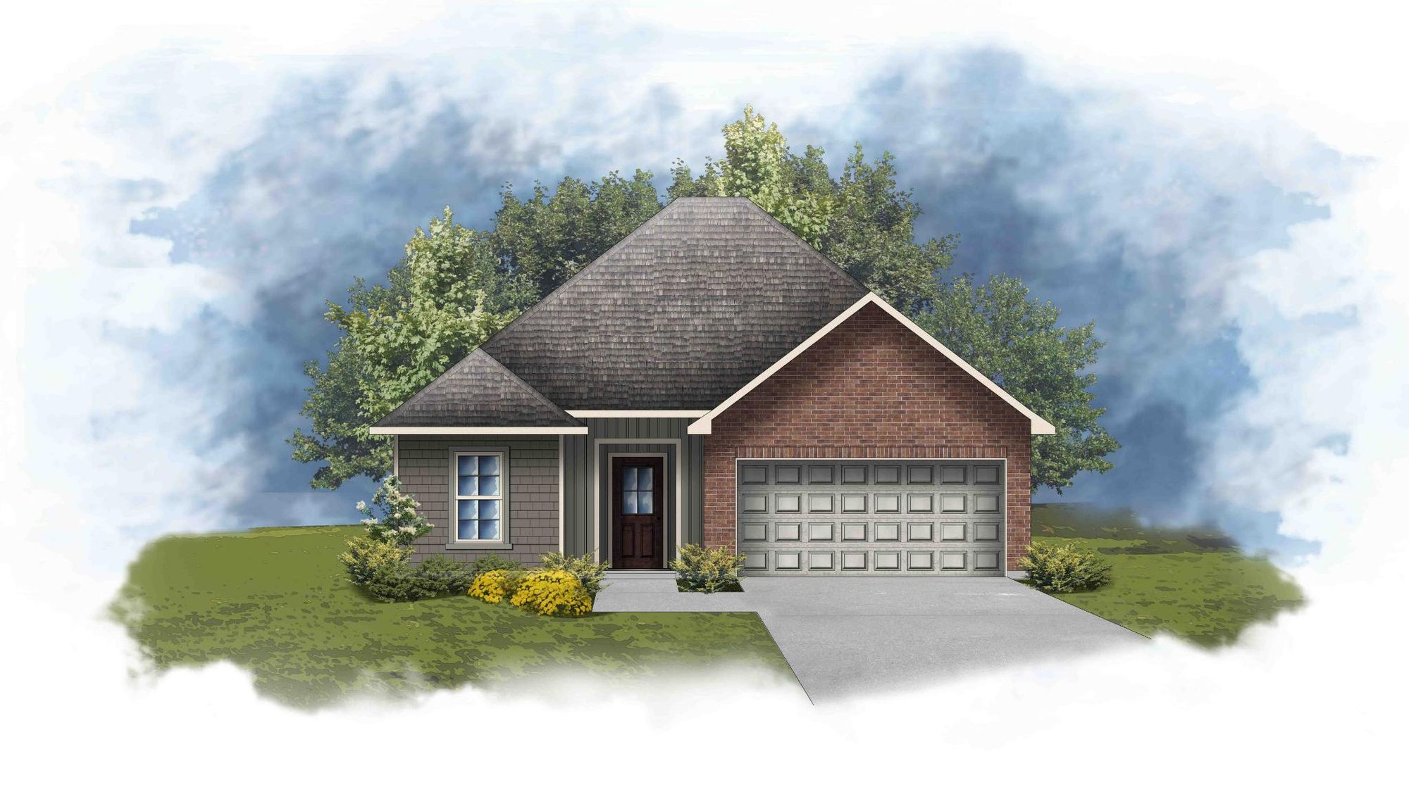 Wendell III H - Open Floor Plan - DSLD Homes