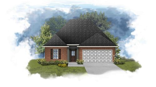 new construction homes in gonzales la in waters cove