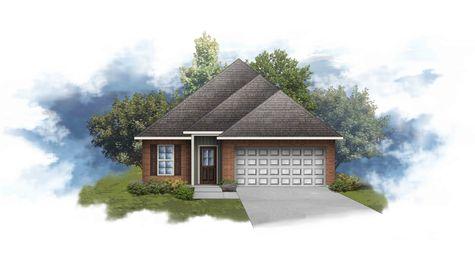 DSLD Homes - Creswell III A Open Floor-plan Elevation Image
