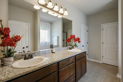 Evangeline Trace - Model Home Master Bathroom - DSLD Homes - LaCrosse IV A - Houma, LA