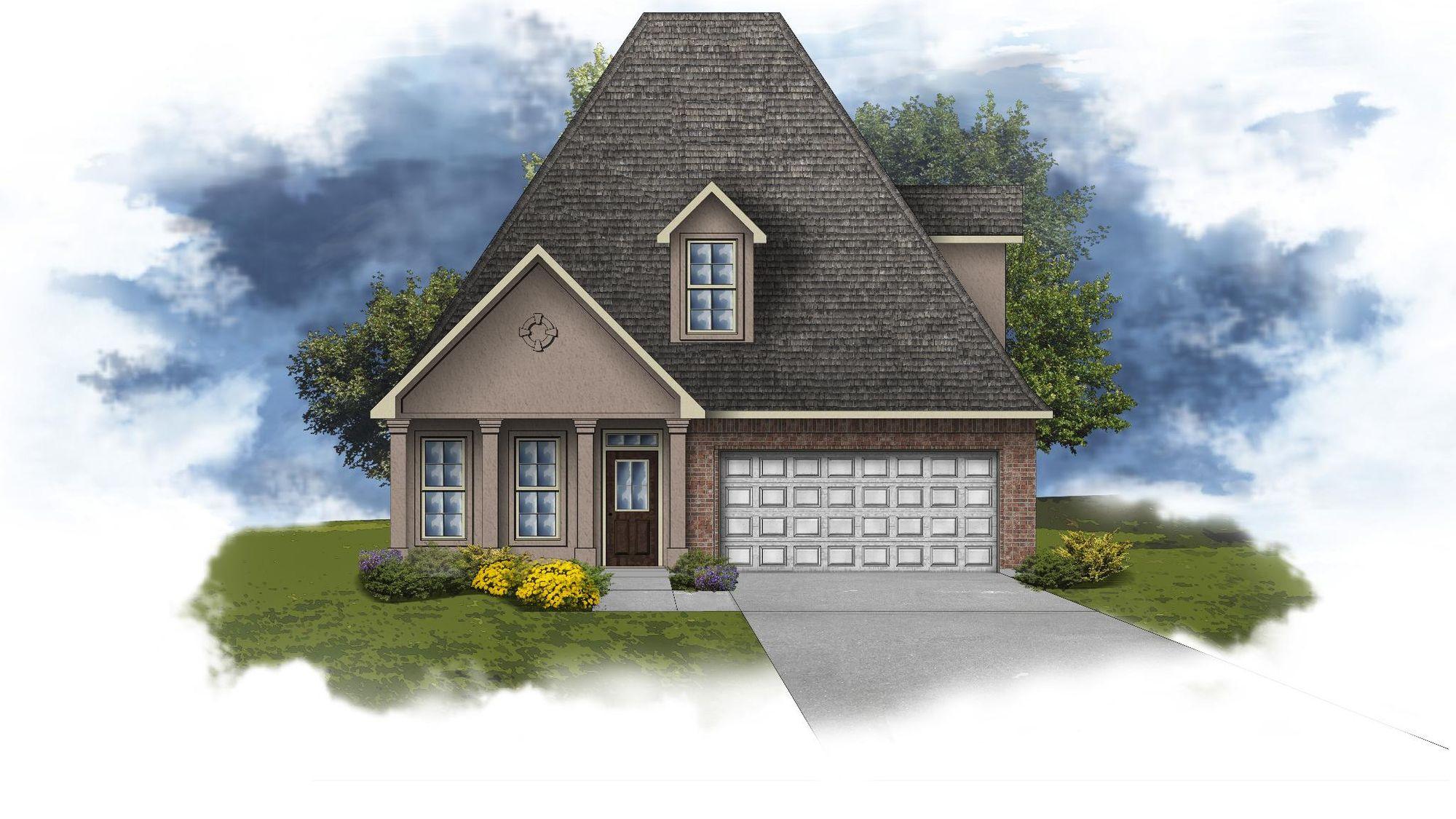 Collier III A - Open Floor Plan - DSLD Homes