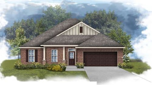 Rodessa III B - Open floor plan - Front elevation