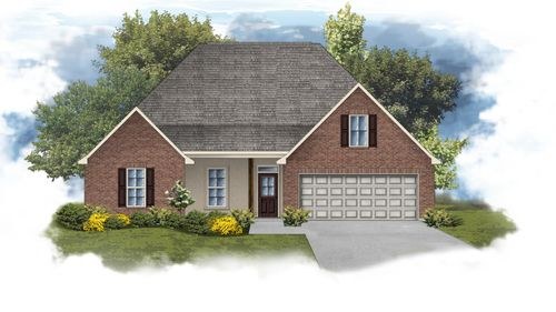 Camellia IV B - Front Elevation - DSLD Homes