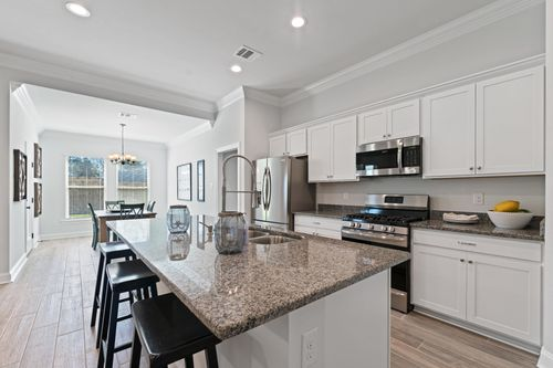 Talon Estates - Model Home Kitchen - Trevi III A - Broussard, LA